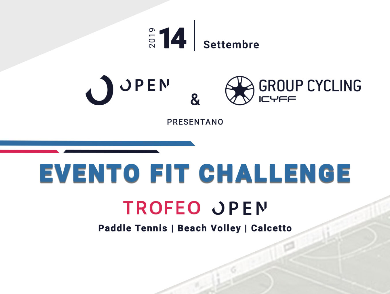 EVENTO FIT CHALLENGE - TROFEO OPEN